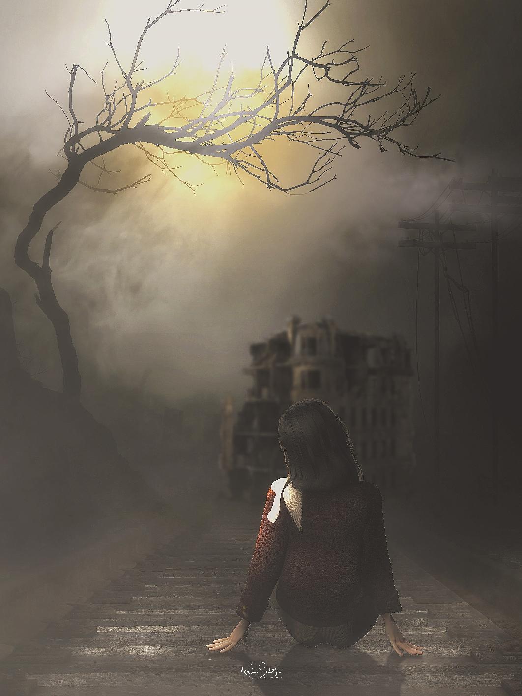 Boek omslag Darkstreet 3